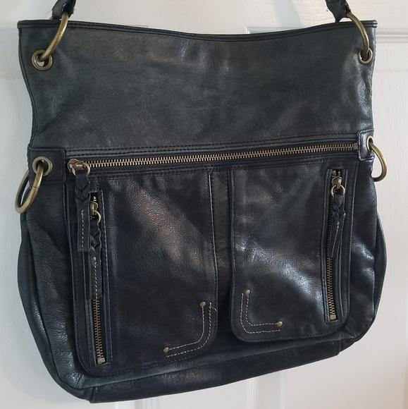 The Sak Handbags - NWOT! The Sak Distressed Soft Leather Shoulder Bag